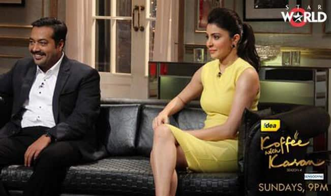 Anurag Kashyap and Anushka Sharma on Koffee with Karan 4