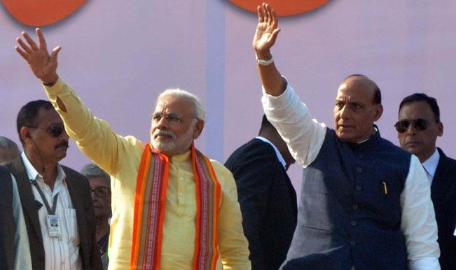 Narendra Modi slams Congress for sidelining Pranab Mukherjee for PM