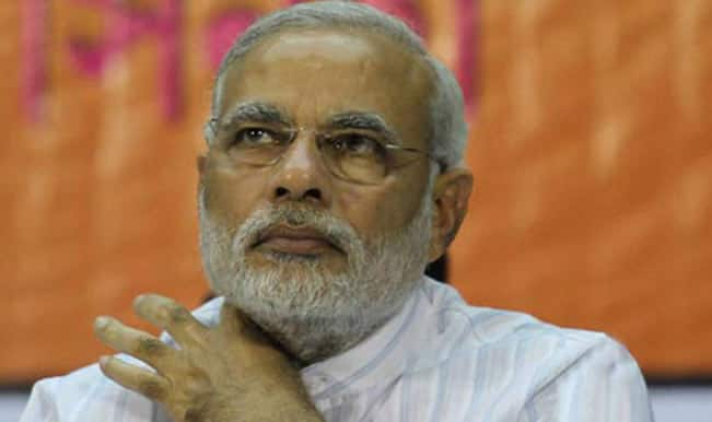 Narendra Modi launches attack on SP in UP rally