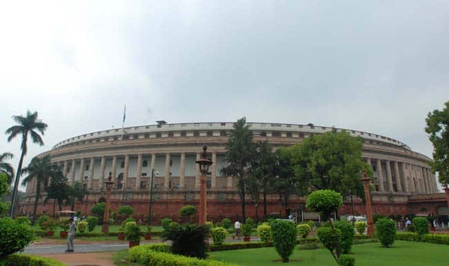 Govt may table Telangana bill in Parliament on Tuesday