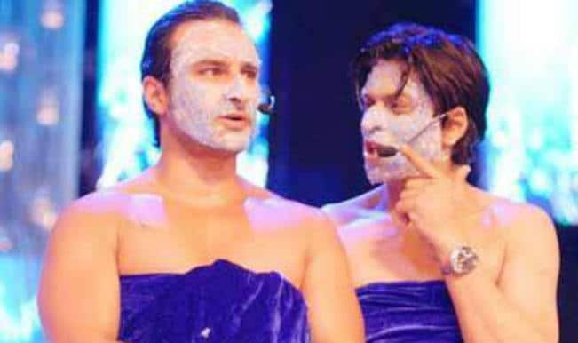 Shahrukh Khan and Saif Ali Khan, miles ahead of others as awards show hosts