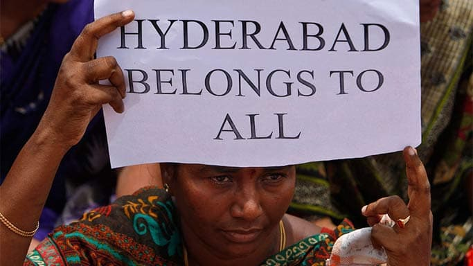 Telangana Bill moved in Lok Sabha; House adjourned till 3 pm