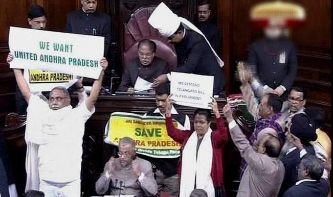 Telangana Bill: After Lok Sabha 'technical glitch' BJP insists on live telecast of RS proceedings