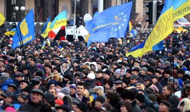 Ukraine prote