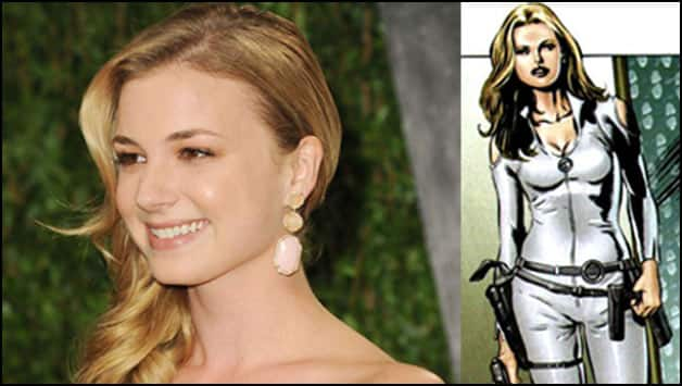 Emily VanCamp as Sharon Carter or Agent 13