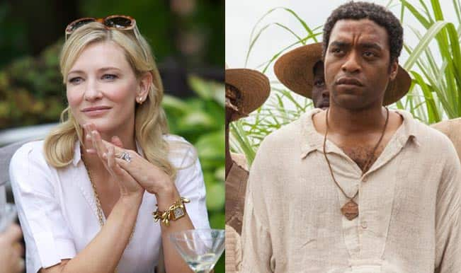Cate Blanchett and Chiwetel Ejiofor - BAFTA Awards 2014