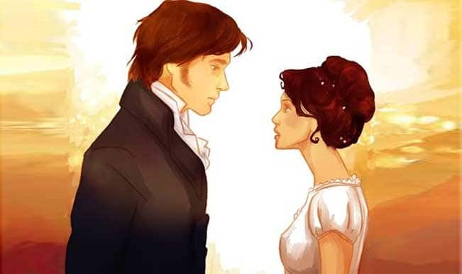 Mr. Darcy and Elizabeth from Pride and Prejudice
