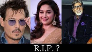 Amitabh Bachchan, Aishwarya Rai Bachchan, Lady Gaga: Top 10 celebrity death hoaxes in recent times!