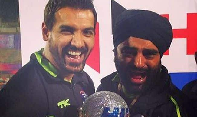 John Abraham's team Delhi Waveriders wins Hockey India League