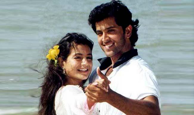 Ameesha Patel and Hrithik Roshan in Kaho Naa... Pyaar Hai