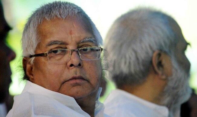 RJD split: Lalu plans talk with 13 MLAs who quit