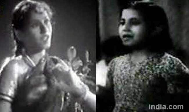 Madhubala in Neel Kamal and Basant