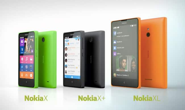 Nokia X, Nokia X+ and Nokia XL Android smartphones launched by Nokia