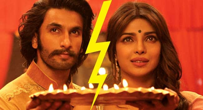Ranveer Singh vows never to work with Priyanka Chopra again!