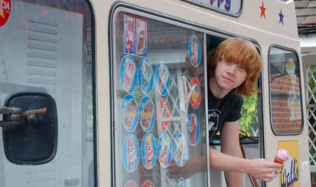 Rupert Grint: The man with an ice cream truck