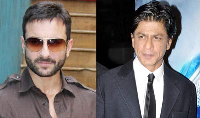 Saif Ali Khan and Shah Rukh Khan