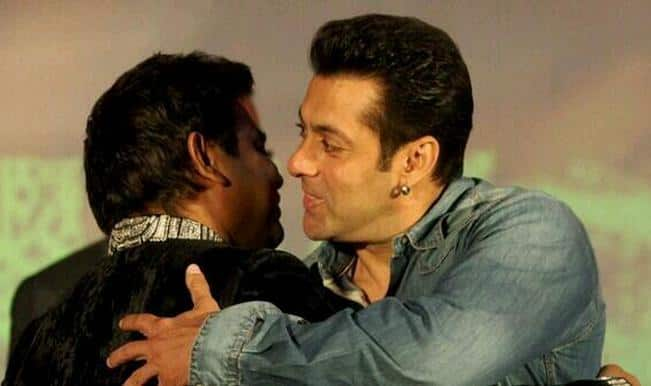 Salman Khan calls A R Rahman average and praises Congressman Kapil Sibal at Raunaq launch