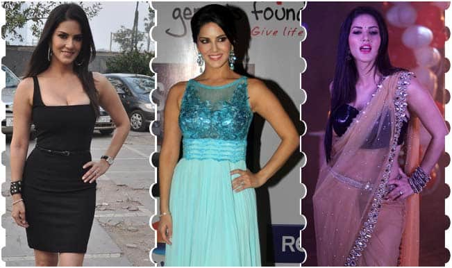 Sexy Sunny Leone's Style Check during Ragini MMS 2 promotions