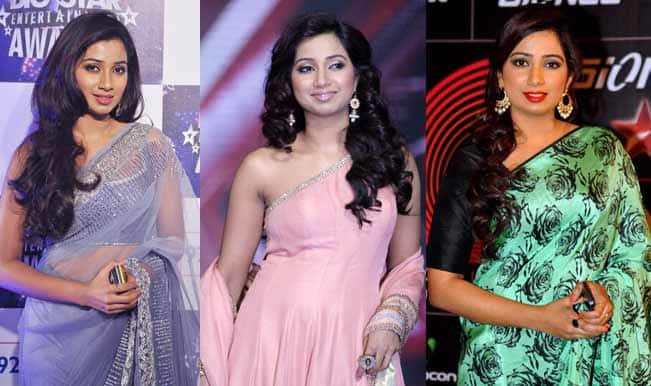 Shreya Ghoshal: Top 5 beautiful appearances