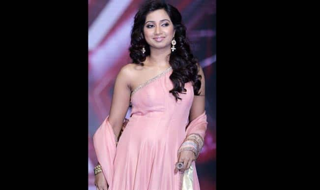 Shreya Ghoshal at Introduction of 'X-Factor' 12 finalists