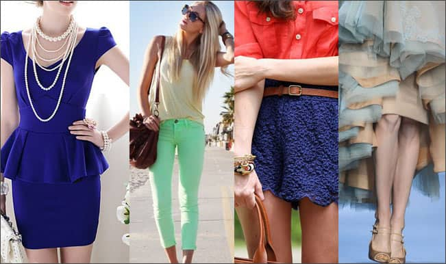 College Fashion: Beat the heat in style with these summer hues!