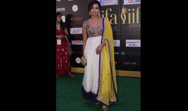 Shreya Ghoshal at Green carpet of International India Film Academy Awards