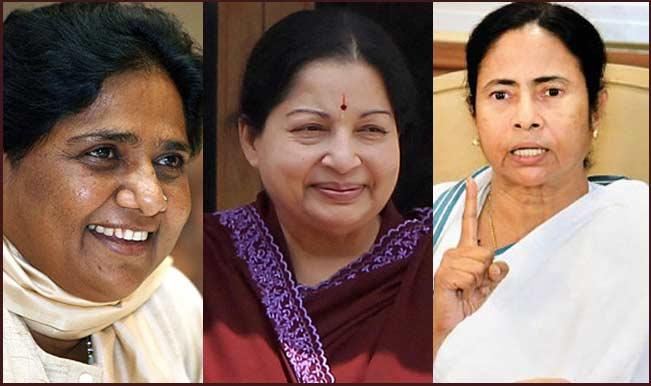 Mayawati_ Jayalalithaa_Mamata Banerjee