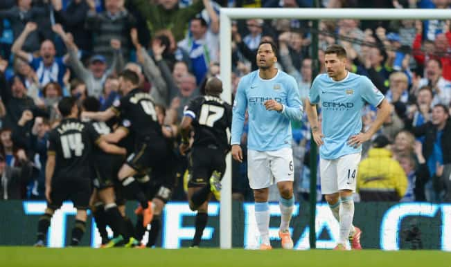 Manchester City lose to Wigan again in FA Cup!