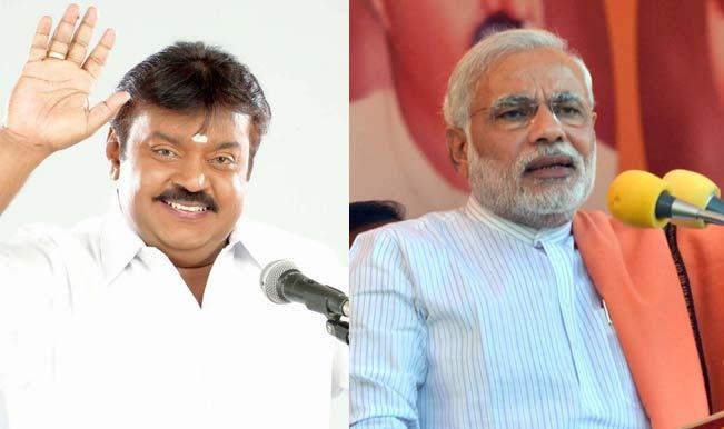 Lok Sabha Elections 2014: 'Captain', Narendra Modi need each other in Tamil Nadu.