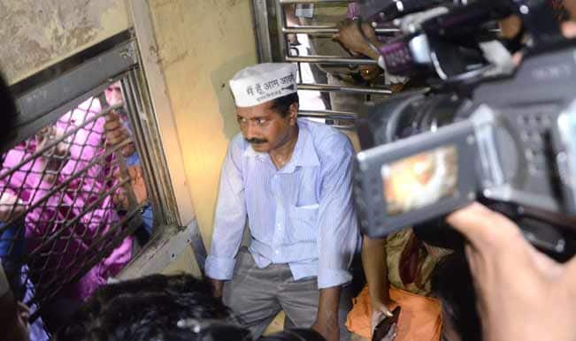 BJP calls Arvind Kejriwal 'dramebaaz' for riding auto and train in Mumbai