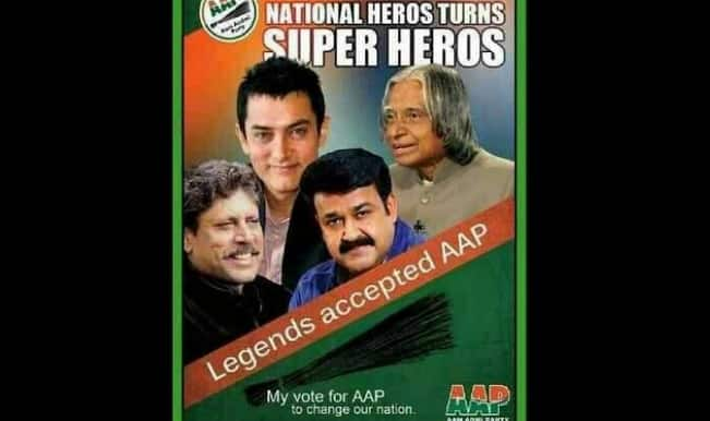 aamir khan on AAP poster-rs