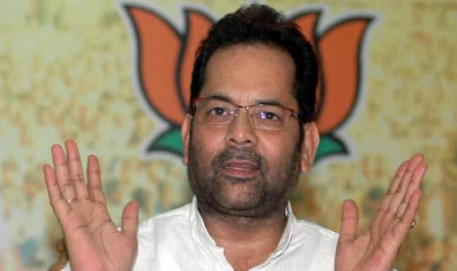 The purpose is served, says Naqvi over Sabir Ali's annulment by BJP