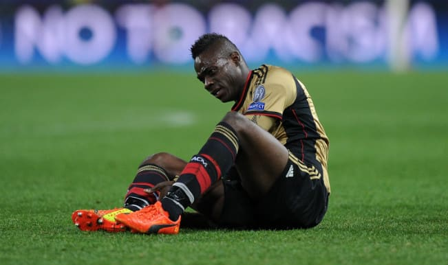 Mario Balotelli for sale following AC Milan's Champions League nightmare in Madrid