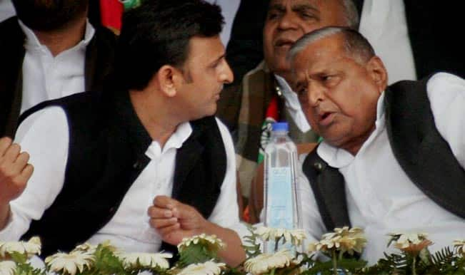 Akhilesh-and-Mulayam-Singh-Yadav