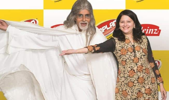 Amitabh Bachchan and Seema Modi