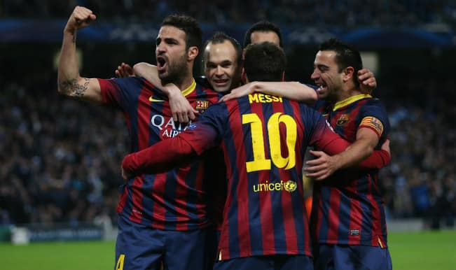 Barcelona vs Manchester City Live Streaming, Champions League 2014