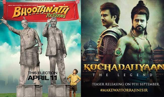 Bhoothnath Returns and Kochadaiyaan release date