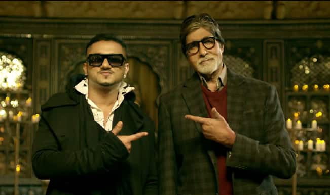 Yo Yo Honey Singh and Amitabh Bachchan's song Party with the Bhoothnath