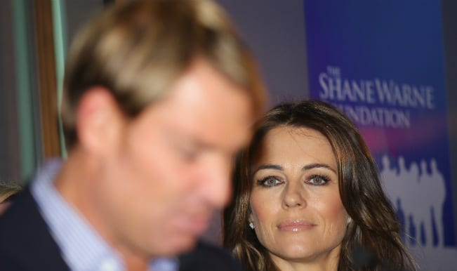 Liz Hurley 'left humiliated and hurt` by ex-Shane Warne