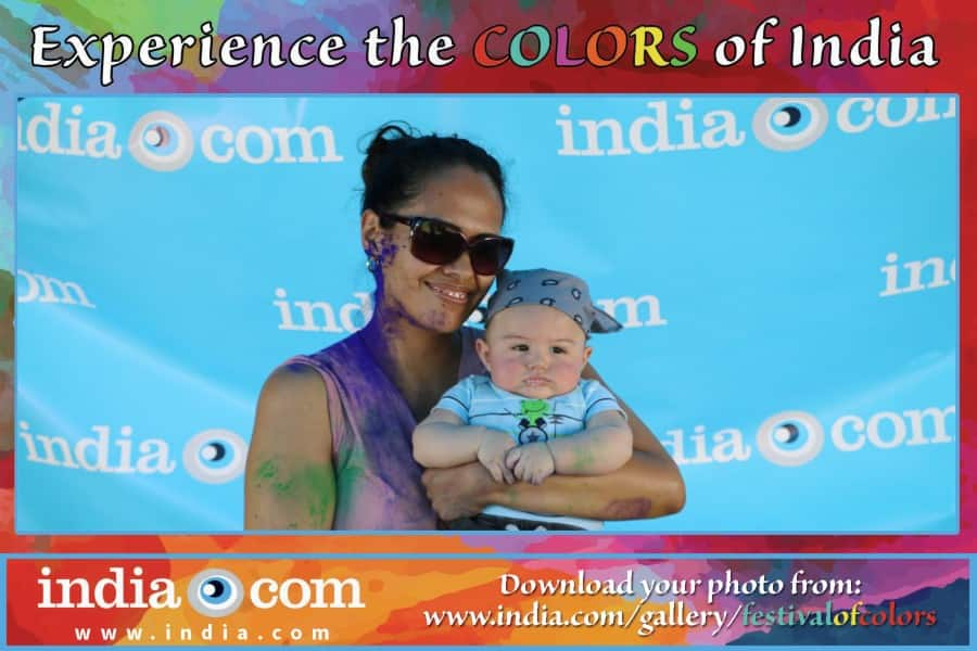 Festival of colours - Los Angeles