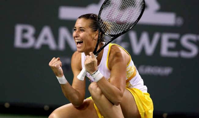Top seed Li Na brushed aside by Flavia Pennetta at the Indian Wells semifinals