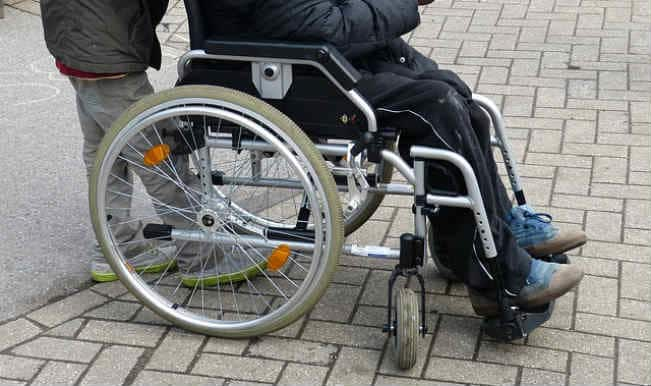 Election officials ensures better care of handicapped voters with wheel chairs, ramps