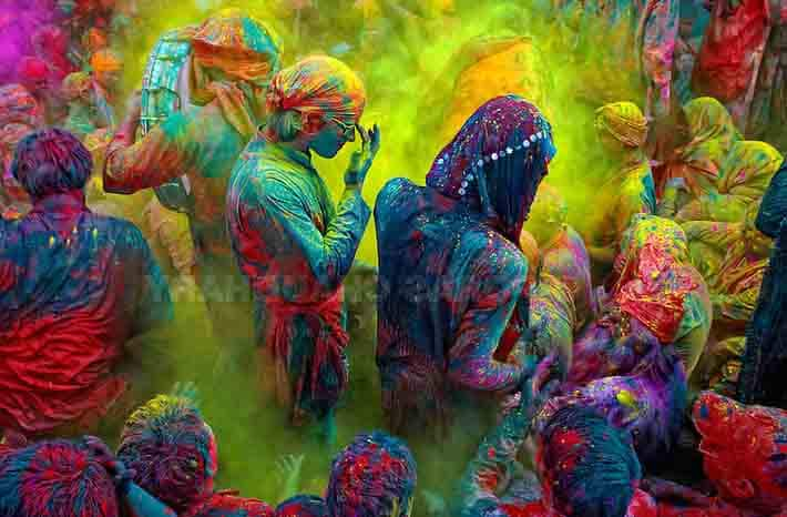 The fourday Holi folk festival of Sujanpur, which traces its origin