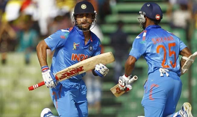 India team virat sjikhar