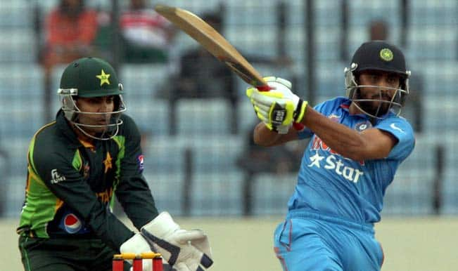 India vs Pakistan Asia Cup 2014: Shahid Afridi helps Pakistan pull off a thrilling one-wicket win