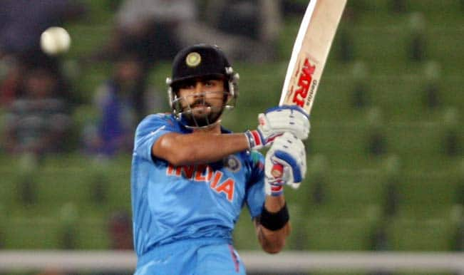 Indian-player-Virat-Kohli-in-action-during-a-World-T20-warm-up-match-between-India-and-England-at-Shere-Bangla-National-Stadium-in-Mirpur-of-B