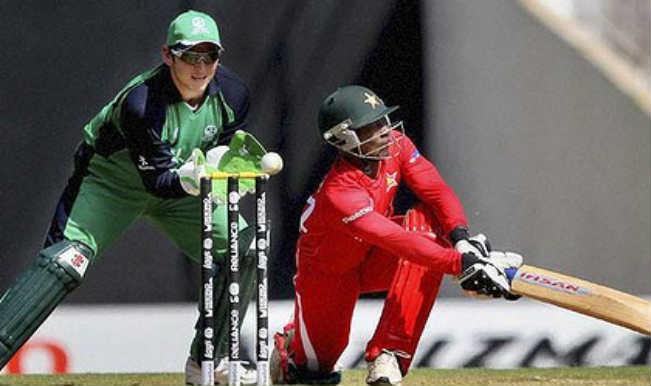 ICC World Twenty20 2014: Zimbabwe scores 163/5 against Ireland in their Group B qualifying match