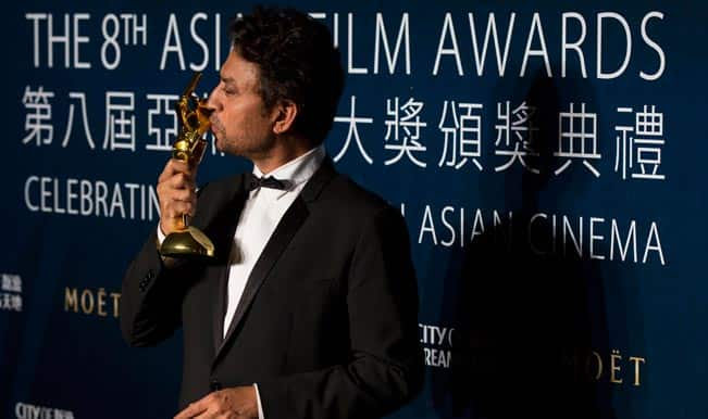 8th Asian Film Awards: Irrfan Khan wins Best Actor for The Lunchbox