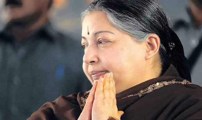 Jayalalithaa takes a dig at Karunanidhi for fielding 2G scam accused Raja