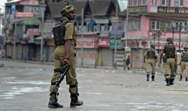 Kashmiri students case: Clashes during protests, JKLF chief held